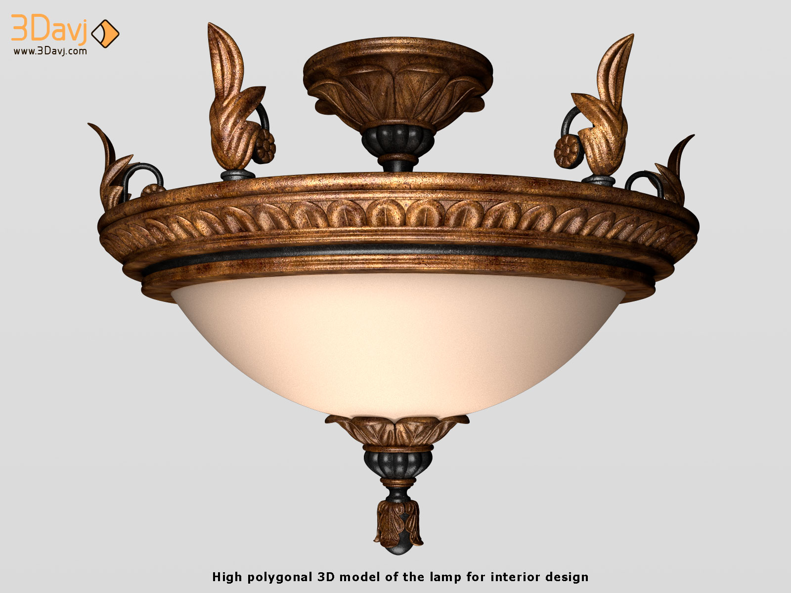 3D models of the lamps