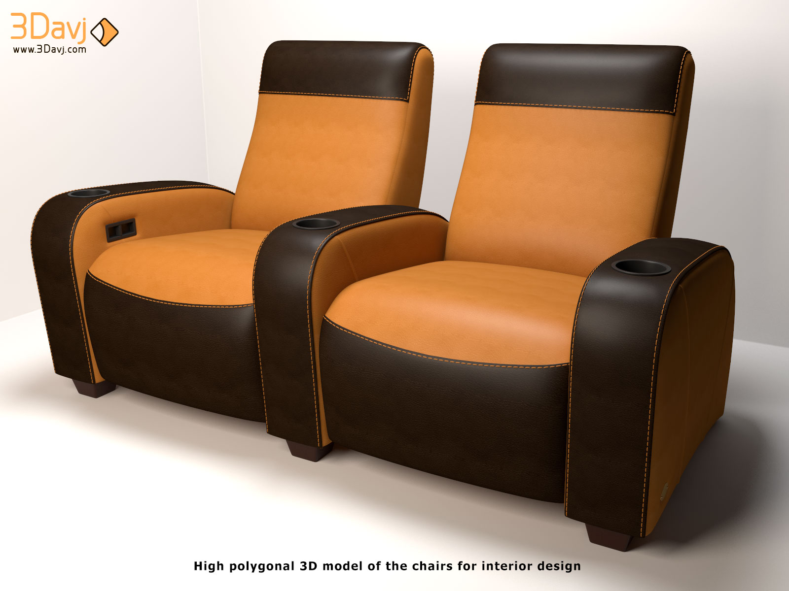 3D-model-for-interior-design-chair-deco